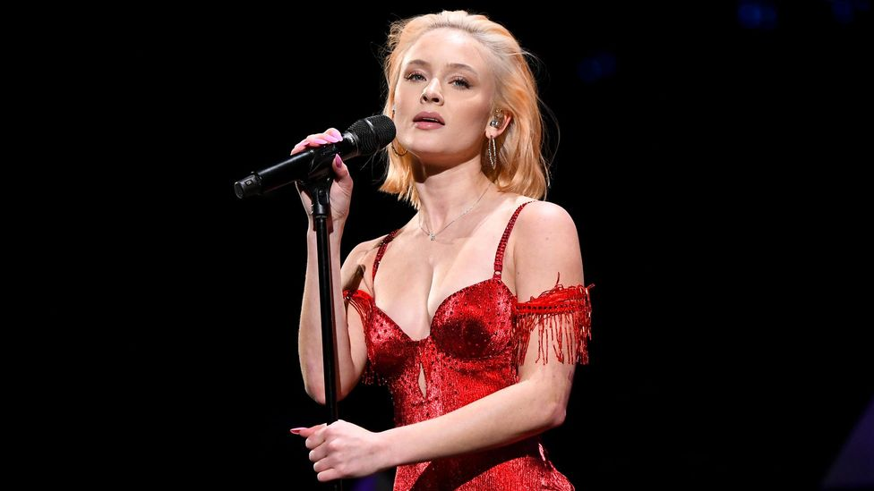 Swedish singer Zara Larsson's first original song Uncover topped the music charts in Scandinavia in 2013 (Credit: Getty Images)