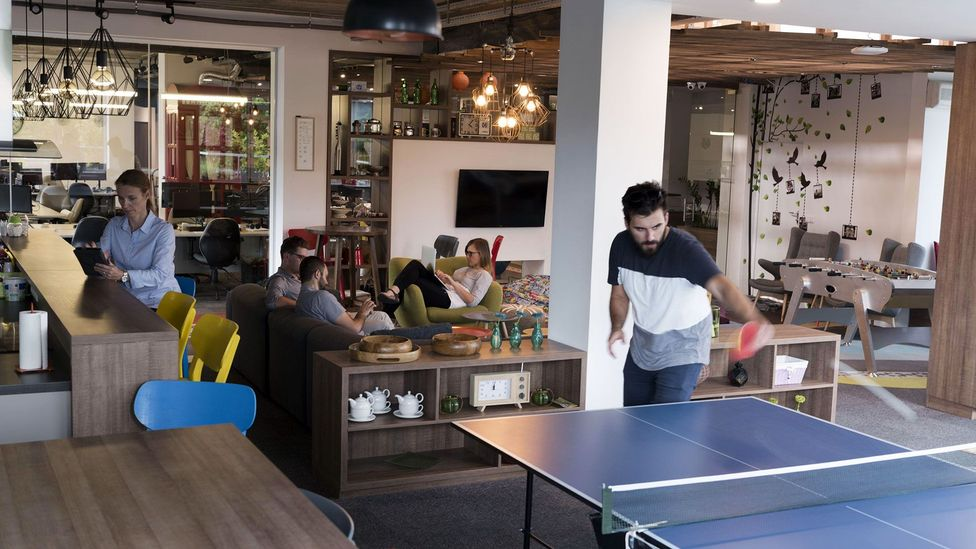 Office-culture experts argue that amenities don't create office culture, and perks are more about company image than anything (Credit: Alamy)