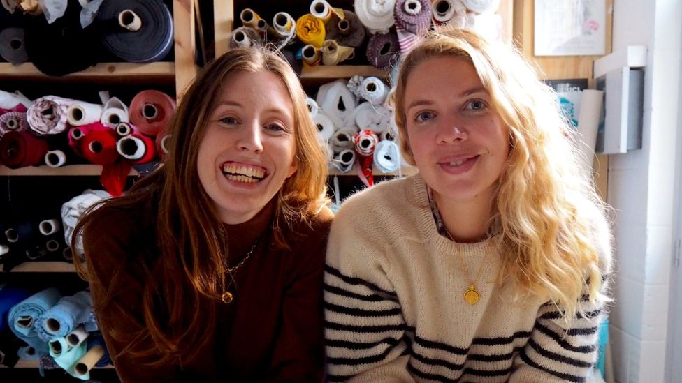 Rosie Scott, left, and Hannah Silvani, right (Image: New Craft House)