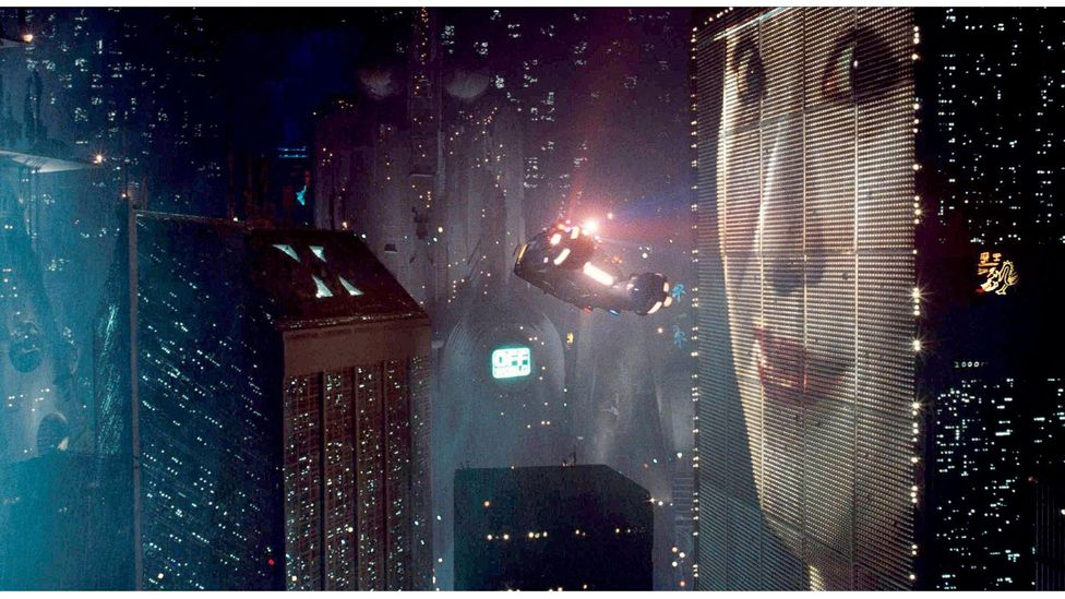 The flying cars shown in 1982 film Blade Runner may still seem like a futuristic fantasy – but they aren't (Credit: Alamy)