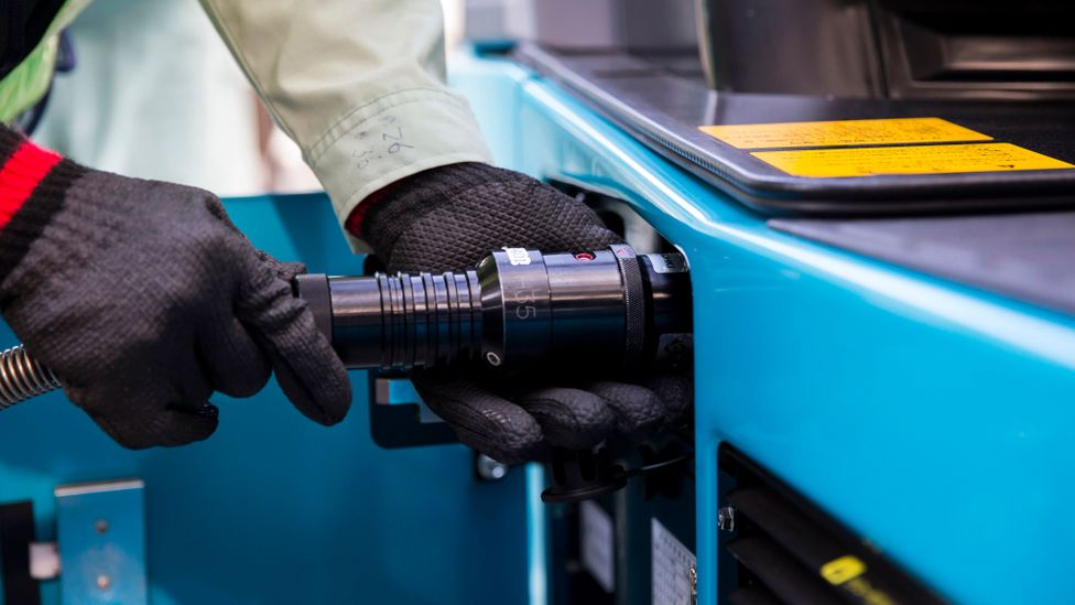 While proponents are optimistic about green hydrogen's future, sceptics question how easy it is to transport the fuel safely (Credit: Getty Images)