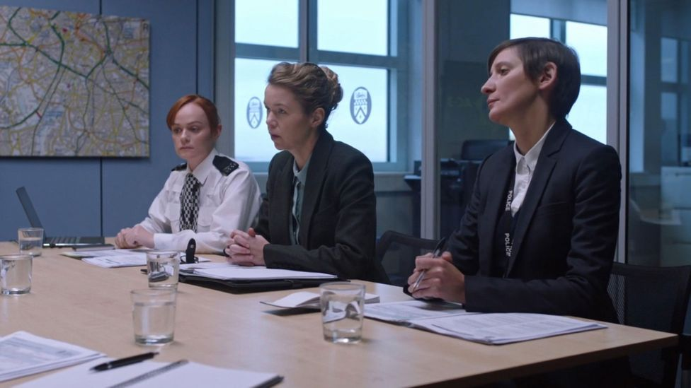 Mercurio's police drama Line of Duty is known for its long, dramatic interview scenes (Credit: Alamy)