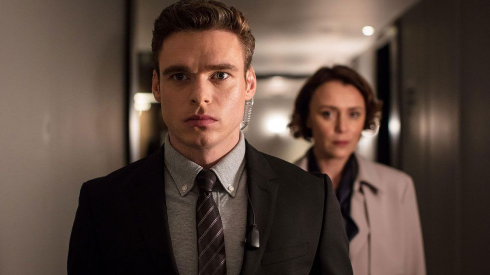 In Bodyguard, the hero David Budd suffers from PTSD – something Mercurio made sure to depict authentically (Credit: Alamy)