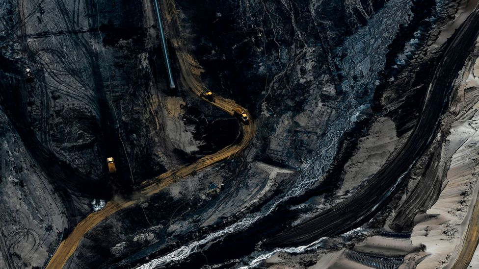 The Garzweiler opencast lignite coal mine in Juechen, Germany (Credit: Ina Fassbender/Getty Images)