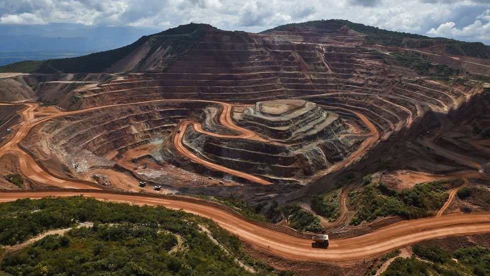 The Los Filos gold mine in Guerrero State, Mexico (Credit: Ronaldo Schemidt/Getty Images)
