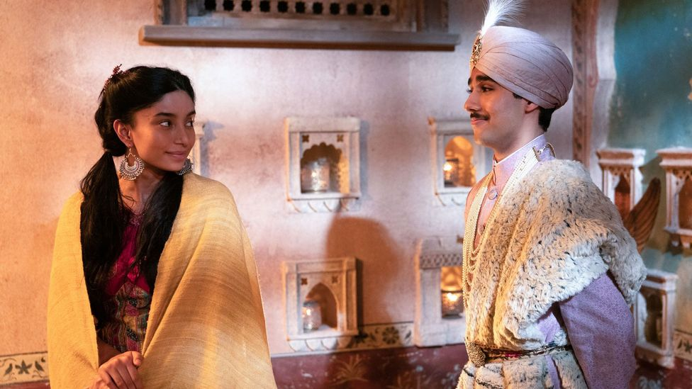 The new TV version makes one important change from the film, in casting ethnically appropriate actors, including Dipika Kunwar (left) and Chaneil Kular (right) (Credit: FX)
