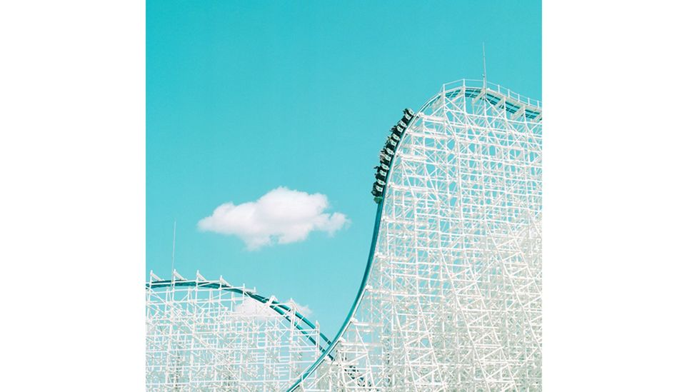 The White Cyclone, Kuwana, Japan – the meticulous composition of the photographs echoes Anderson's cinematic style (Credit: Paul Hiller)