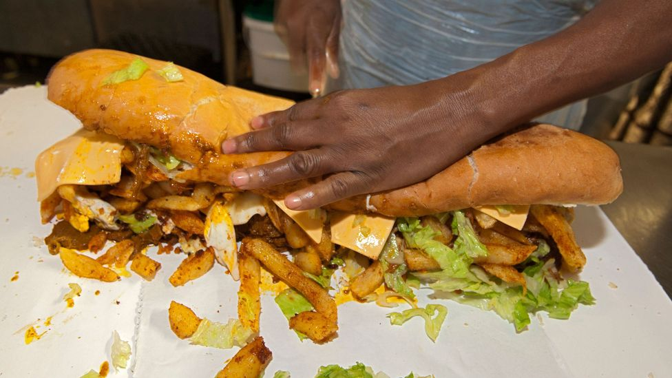 The foot-long Gatsby sandwich is a classic, often-recommended dish to try when in Cape Town (Credit: Eric Nathan/Alamy)