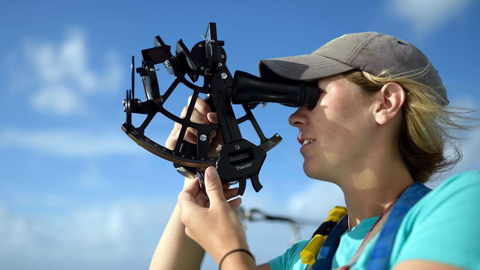It is a sextant, not a sextet or a sexton, in case you are struggling to find the right word (Credit: Solvin Zankl/Alamy)