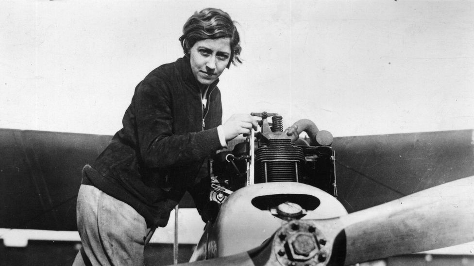 The famous aviation pioneer Amy Johnson served as an ATA pilot (Credit: Hulton Archive/Getty Images)