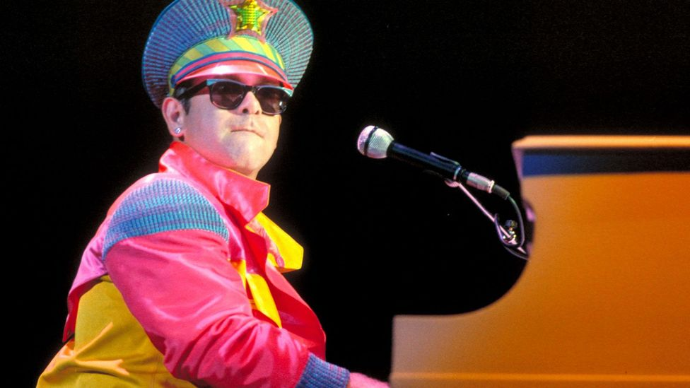 Elton John is one of a number of musicians who have paid tribute to Lennon in song, with his 1982 track Empty Garden (Hey Hey Johnny) (Credit: Alamy)