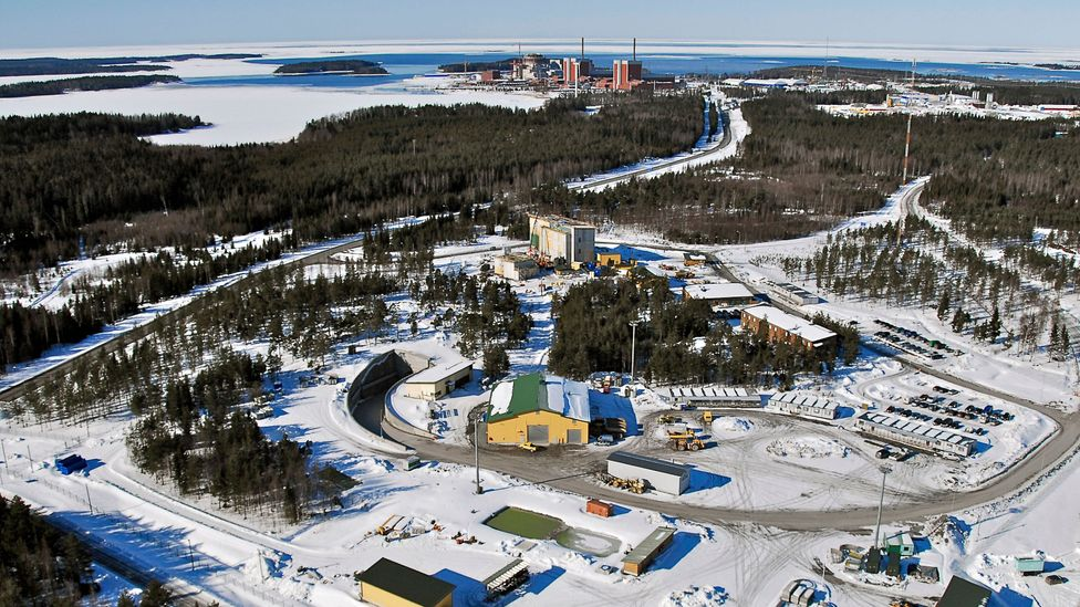 The Olkiluoto repository from the air, where the effects of deep time are weighed up (Credit: Posiva Oy)