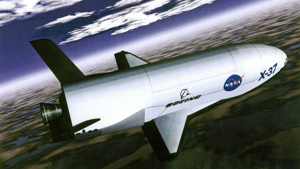 The Boeing X-37B spaceplane could one day launch tiny satellites which could perform some of the U-2's missions (Credit: Nasa)