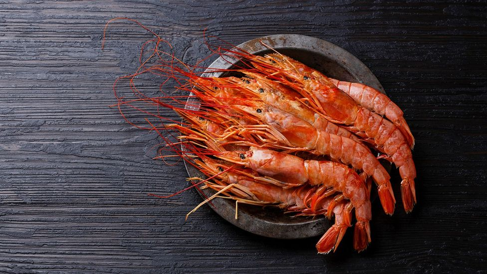 One reason fish and seafood can be healthy is because they replace less healthy foods in our diets (Credit: Getty Images)