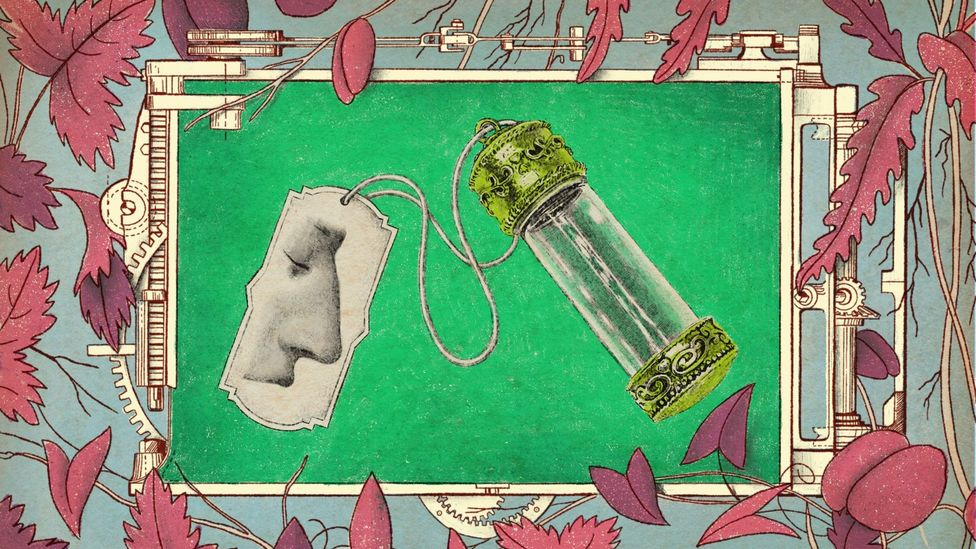 A vial of clean air, a snapshot of temporarily less-polluted cities (Credit: Emmanuel Lafont)