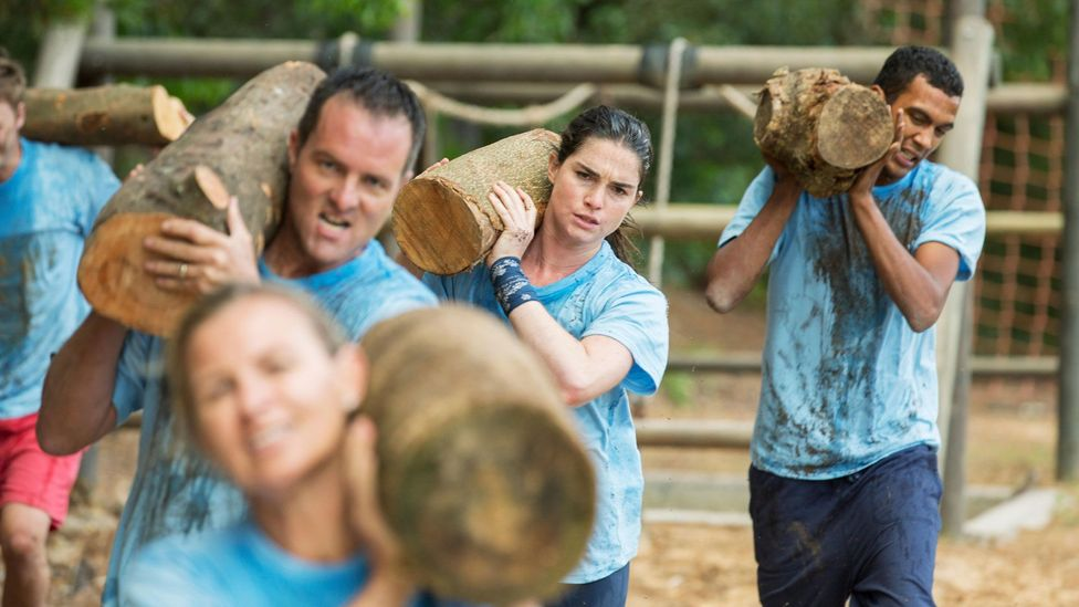 Some argue that team building can provide the opportunity for teams to experience mutual hardships that could strengthen connections (Credit: Alamy)