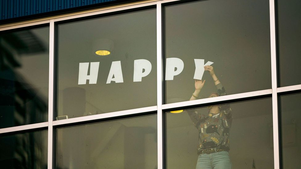 The majority of Americans would choose happiness over achieving great things, according to one recent survey (Credit: Michael Wheatley/Alamy)