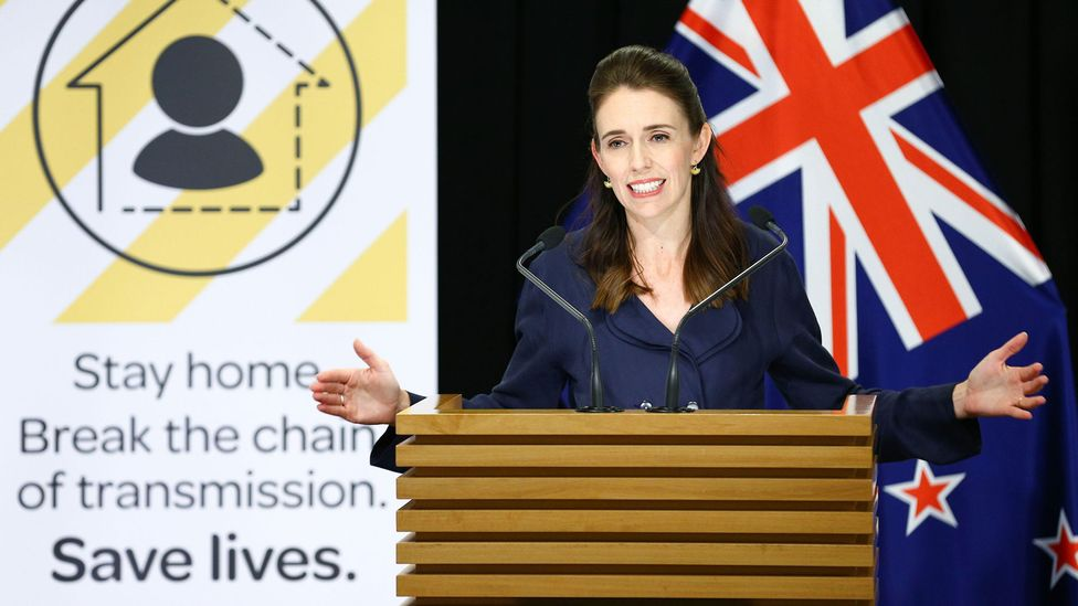 Even as women leaders such as New Zealand's Jacinda Ardern have won plaudits for their pandemic leadership, many still face sexism and criticism (Credit: Alamy)