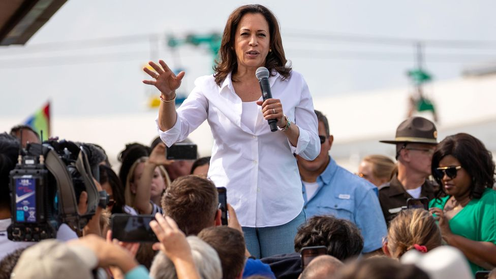 On 20 January, Kamala Harris will become the US's highest ranking woman ever – but she will still face criticism and distrust in the US and on the global stage (Credit: Alamy)