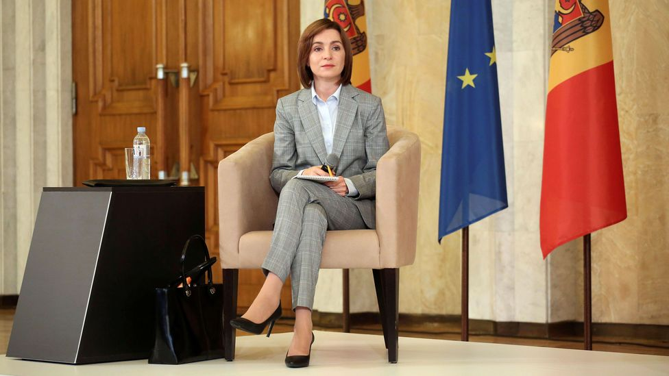 In November 2020, Maia Sandu became Moldova's first woman president following years of sexist attacks from both men and women (Credit: Alamy)