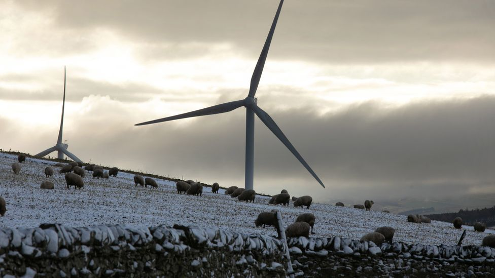 As the world turns to renewable energy, climate change is already being felt across the world (Credit: Getty Images)