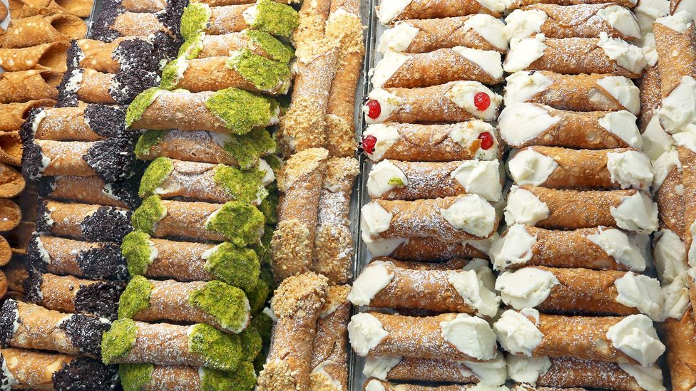 Over time, most Sicilian cannoli have changed in flavour and ingredients – and have spread worldwide (Credit: ChiccoDodiFC/Getty Images)