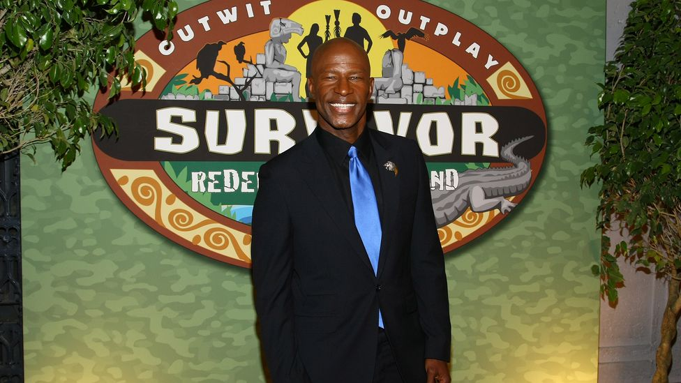 Phillip Sheppard competed on Survivor in 2011 and 2013, and is part of a black alumni group that's pushed for better representation on the US programme (Credit: Getty)