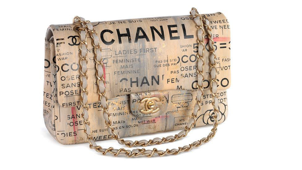 The Chanel Timeless Classic bag of spring/summer 2015 was designed by Karl Lagerfeld (Credit: Victoria and Albert Museum, London)