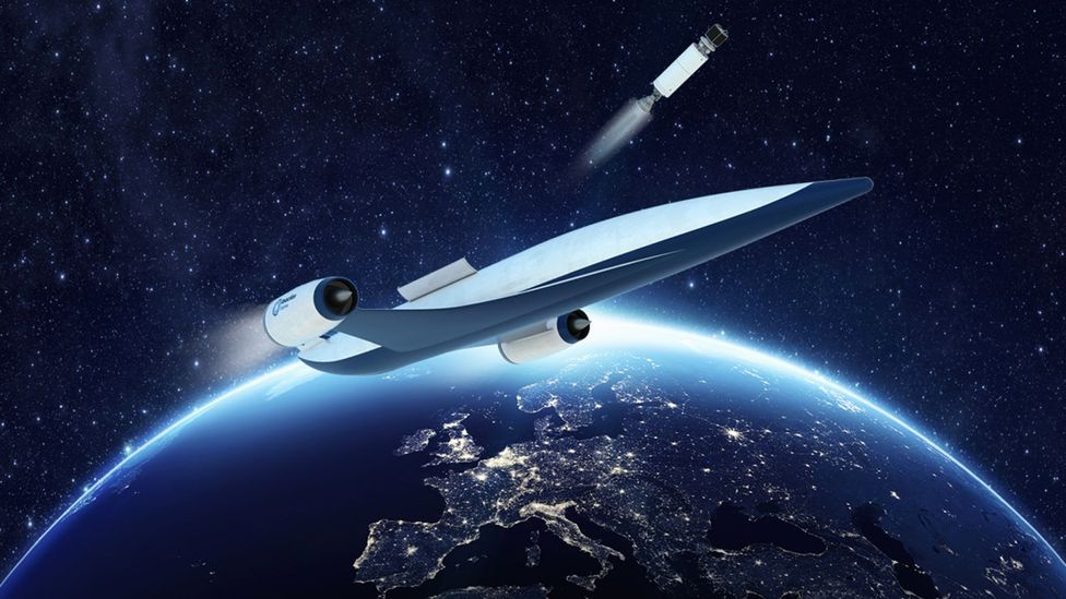Spaceplane concept (Credit: Reaction Engines)