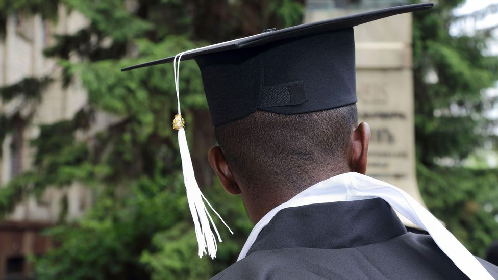Degree inflation has a significant negative impact on populations that are less likely to graduate from a four-year programme, including black and Latino students (Credit: Alamy)