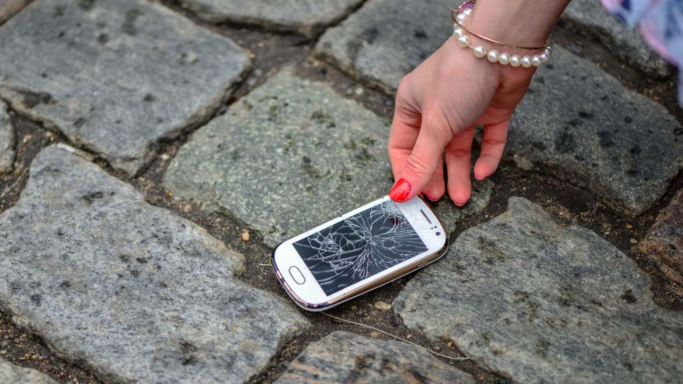 We've all been there – but what if phones and other electronics were made with repairability in mind? (Credit: Alamy)