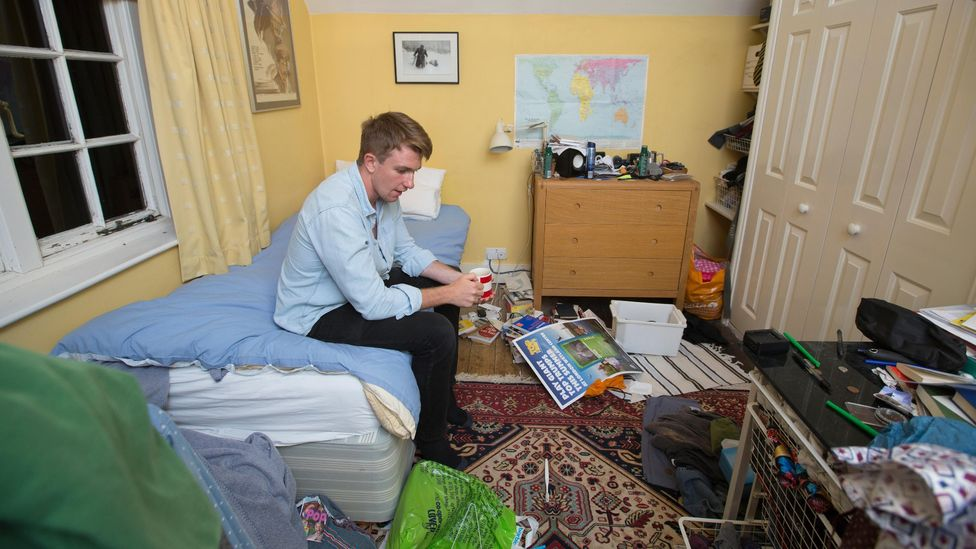 Many young people have had no choice but to move back in with their parents during the pandemic (Credit: Alamy)