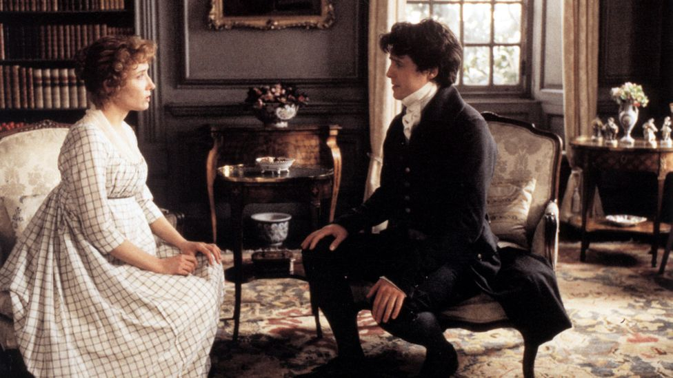 Sense and Sensibility's most heartbreaking moment is when Elinor believes Edward Ferrars has married another – as depicted by Emma Thompson in the 1995 film (Credit: Alamy)