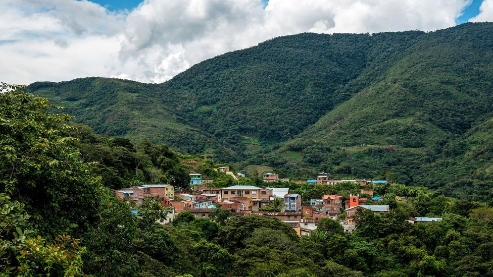 Nestled in the Yungas valley, Mururata is the centre of the Kingdom of the Afro-Bolivians (Credit: Jordi Busqué)