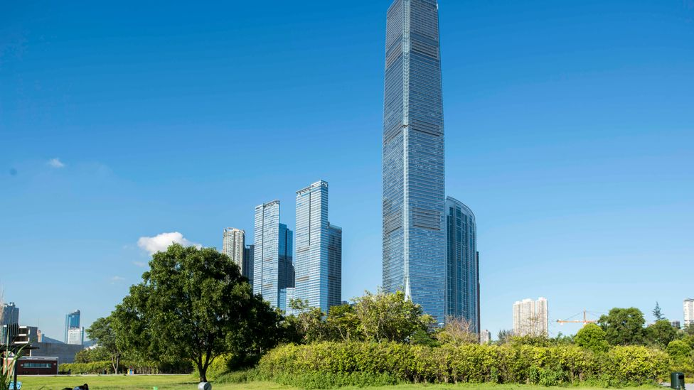 The ICC is Hong Kong's tallest skyscraper, and has worked to cut its energy intensity (Credit: Kai Shing Management Services)