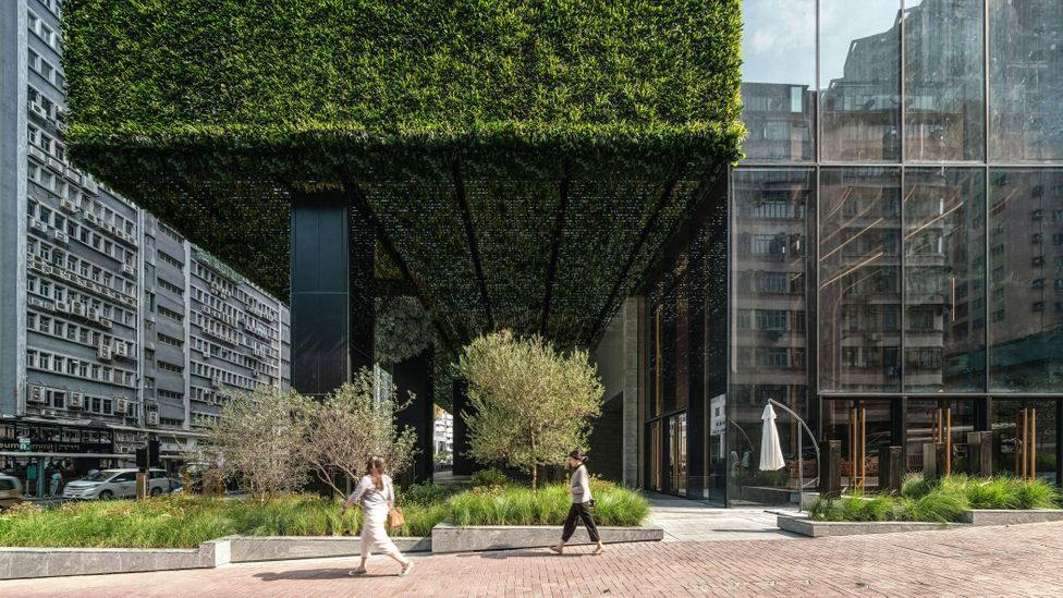 Incorporating vegetation into the K11 building sequesters around four tonnes of CO2 per year (Credit: New World Development Company)