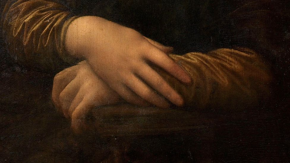 Some viewers are as transfixed by Mona Lisa's hands as by her face (Credit: Alamy)