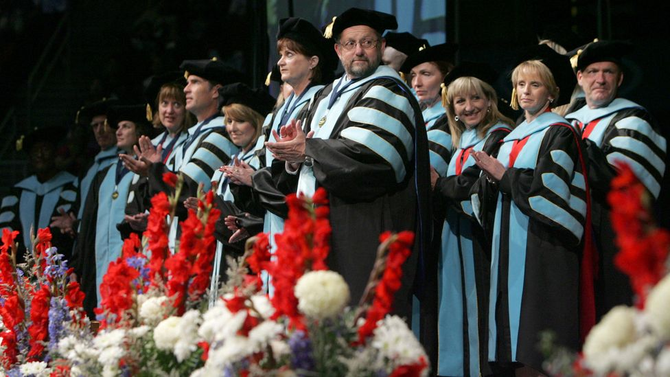 There's a stark disparity between how women PhDs are recognised with professional titles versus men (Credit: Alamy)