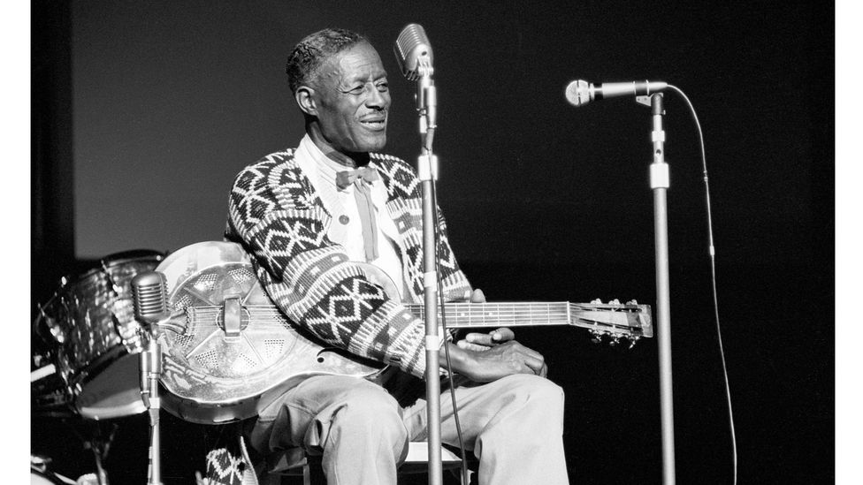 "The early blues women were sidelined by the ""Blues Mafia"" who championed Delta blues singers such as Robert Johnson, Skip James and Son House [pictured] (Credit: Getty Images)"