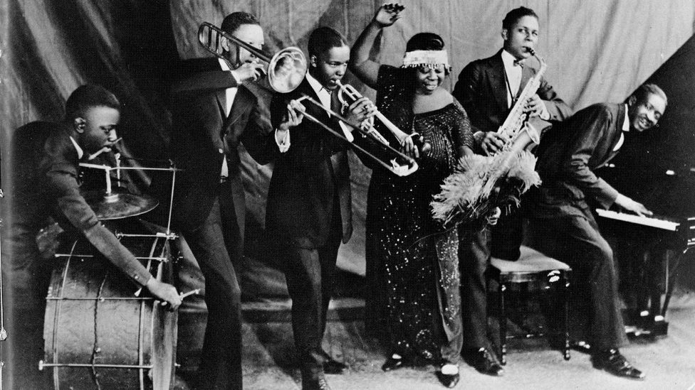 "Gertrude ""Ma"" Rainey was one of several black women who dominated the classic blues – African-American culture's first mainstream breakthrough (Credit: Getty Images)"