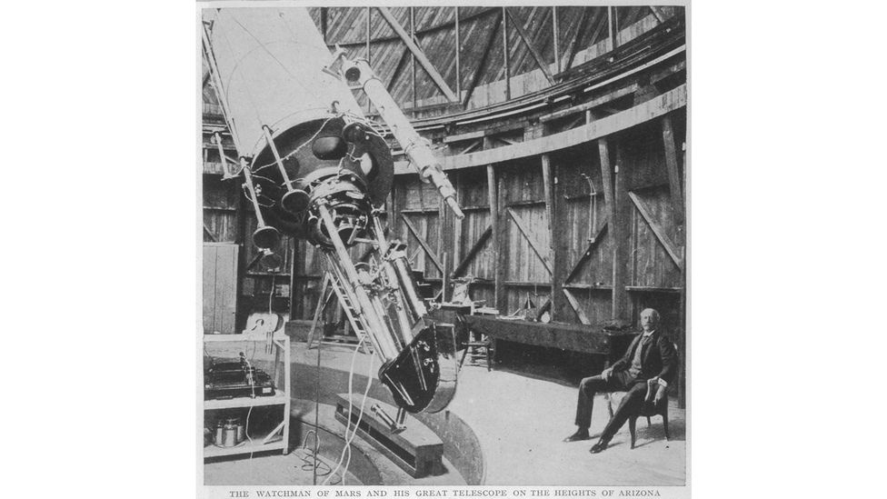Percival Lowell established his observatory in Flagstaff, Arizona to look for intelligent life on Mars. Eventually it was used to find Pluto (Credit: Alamy)