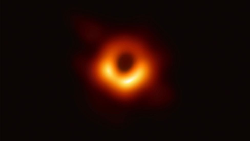 In 2019, the Event Horizon Telescope (EHT) captured an image of the shadow of a supermassive black hole in the centre of the galaxy Messier 87 (Credit: Alamy)