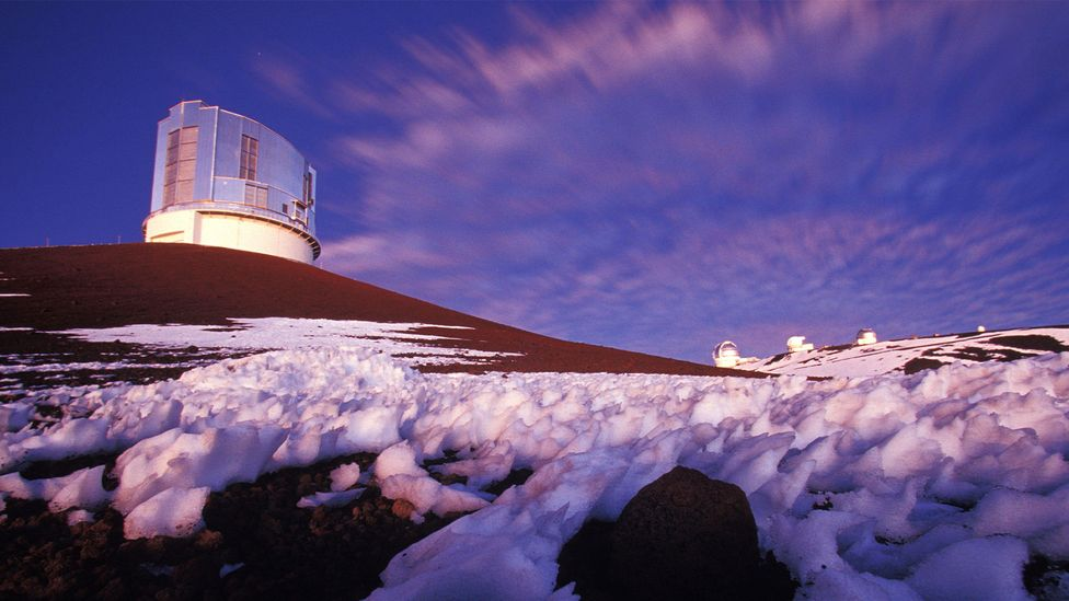 """The Subaru telescope in Hawaii has already spotted the most distant known object in our solar system, nicknamed """"Farfarout"""", during a search for Planet Nine (Credit: Alamy)"""