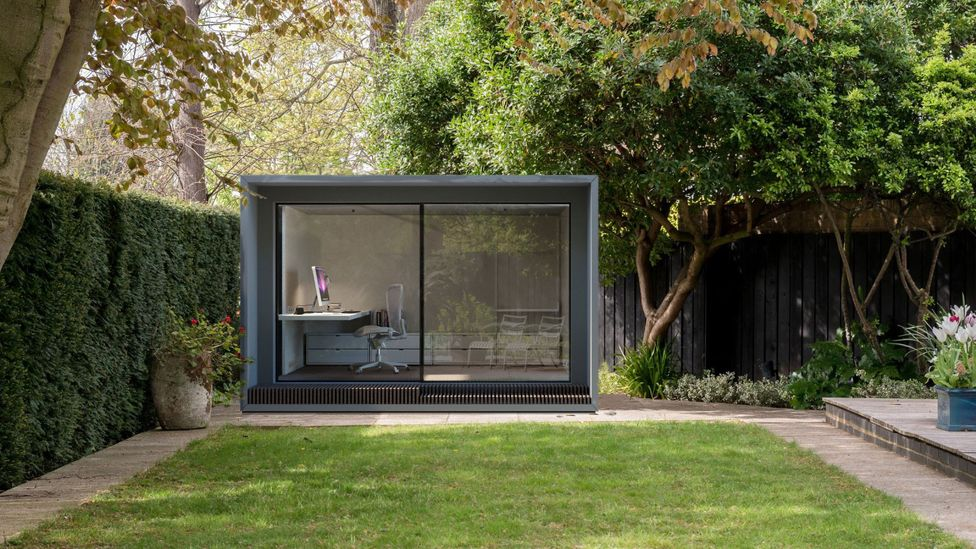 Some workers are turning to pod-like solutions to create hospitable work-from-home spaces – but it's a luxury only some can both accommodate and afford (Credit: Modulr Space Ltd)