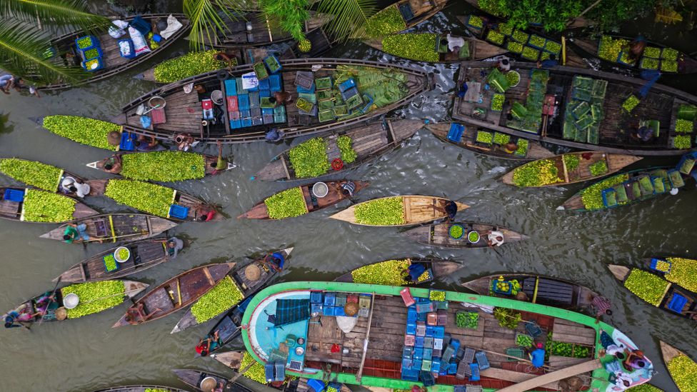 In Bangladesh, life is played out on the 230 rivers that crisscross the nation (Credit: Mohammad Saiful Islam/Getty Images)