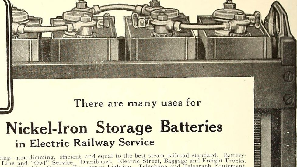 What used to be a dangerous quirk of the Edison battery has turned out to be remarkably useful (Credit: Alamy)
