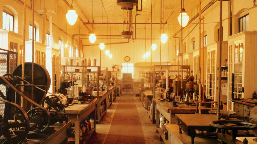 Edison's laboratory in New Jersey was the birthplace of many of his inventions, both those that gained popularity in his lifetime and those that didn't (Credit: Alamy)