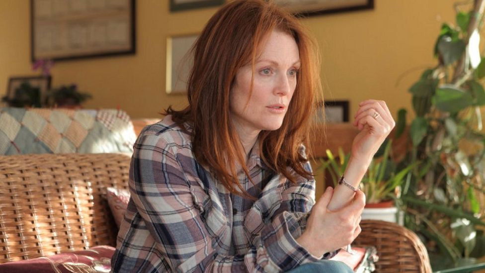 The 2014 film Still Alice saw Julianne Moore win an Oscar for her portrayal of a woman with early-onset dementia (Credit: Alamy)