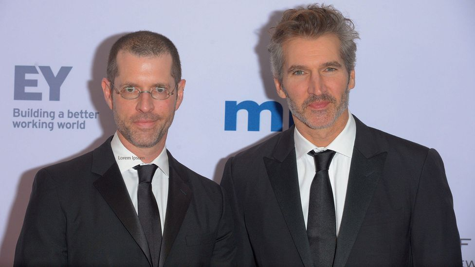 Remarks from Game of Thrones creators David Benioff and DB Weiss sparked a discussion about who is able to make mistakes and still move forward, and who isn't (Credit: Alamy)