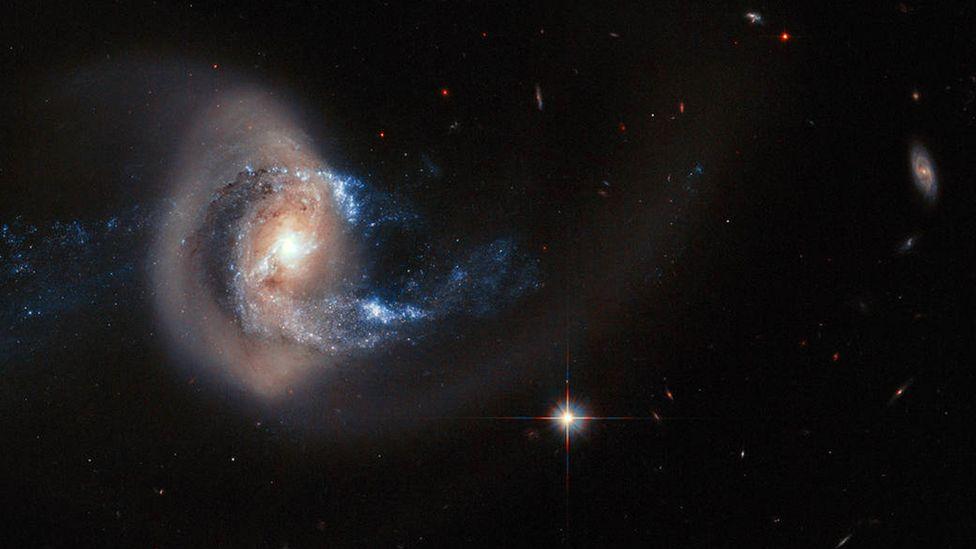 Does God spin galaxy-sized plates while juggling planetary balls? (Credit: Nasa)
